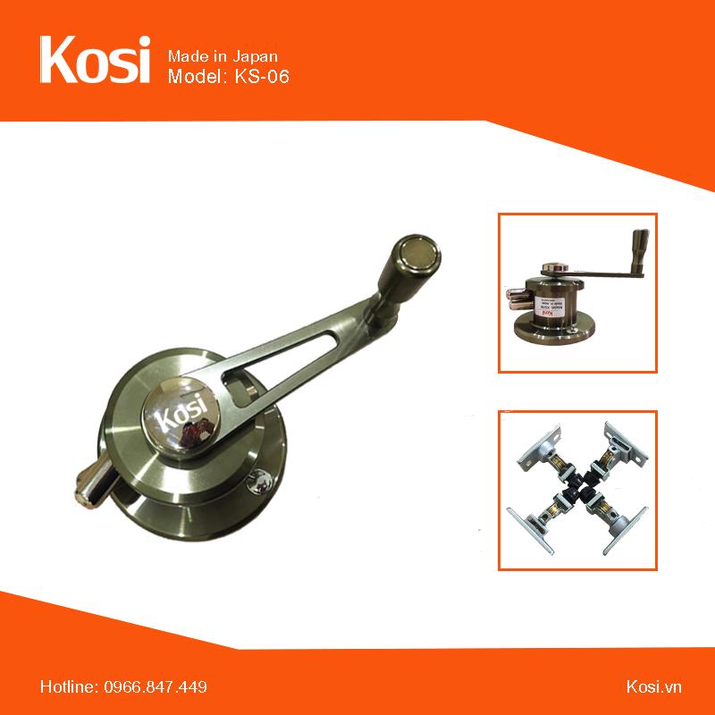 Bộ sản phẩm giàn phơi thông minh Kosi 06.