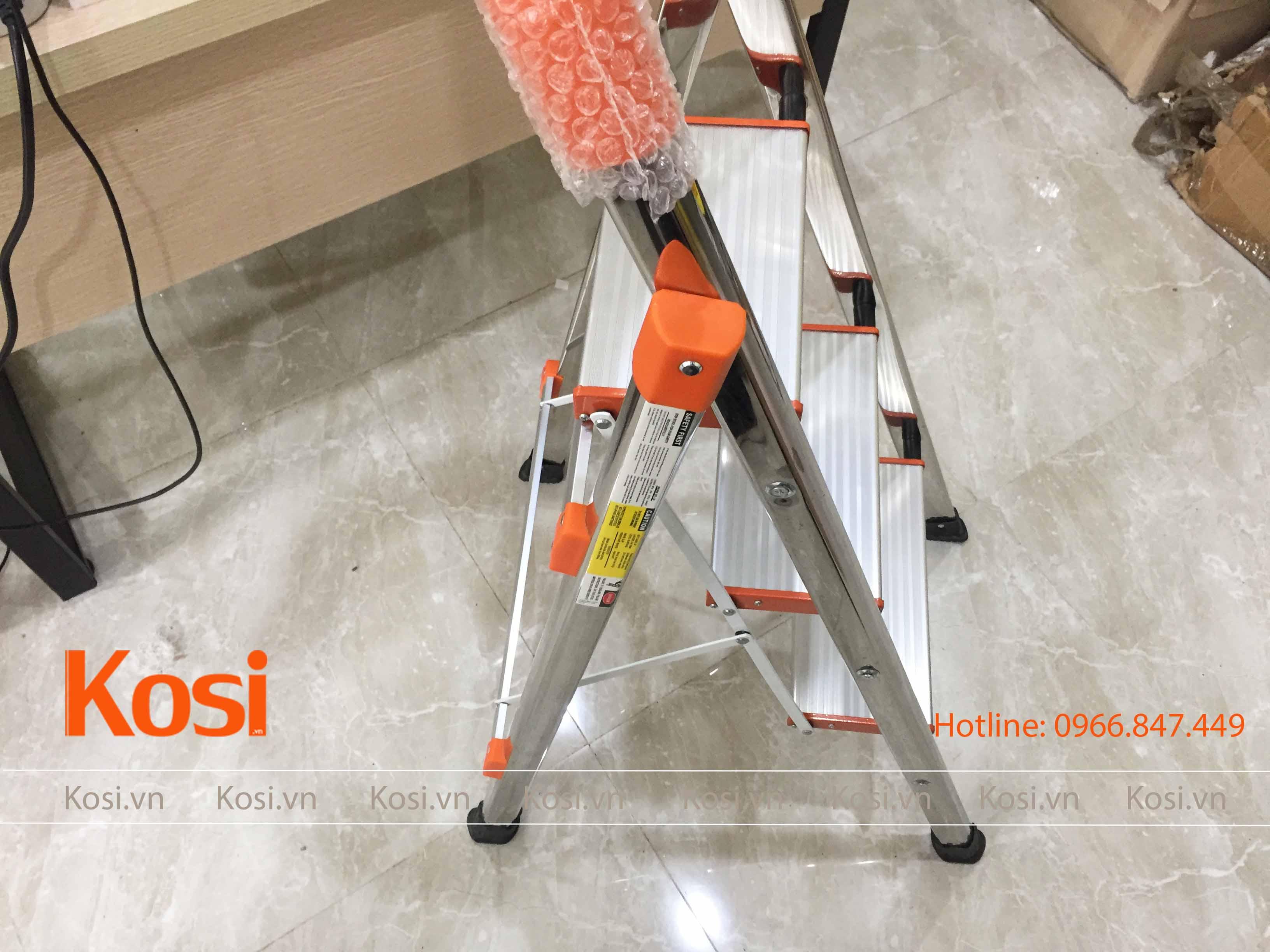 Thang ghế inox KSXP – 3 STEP 4