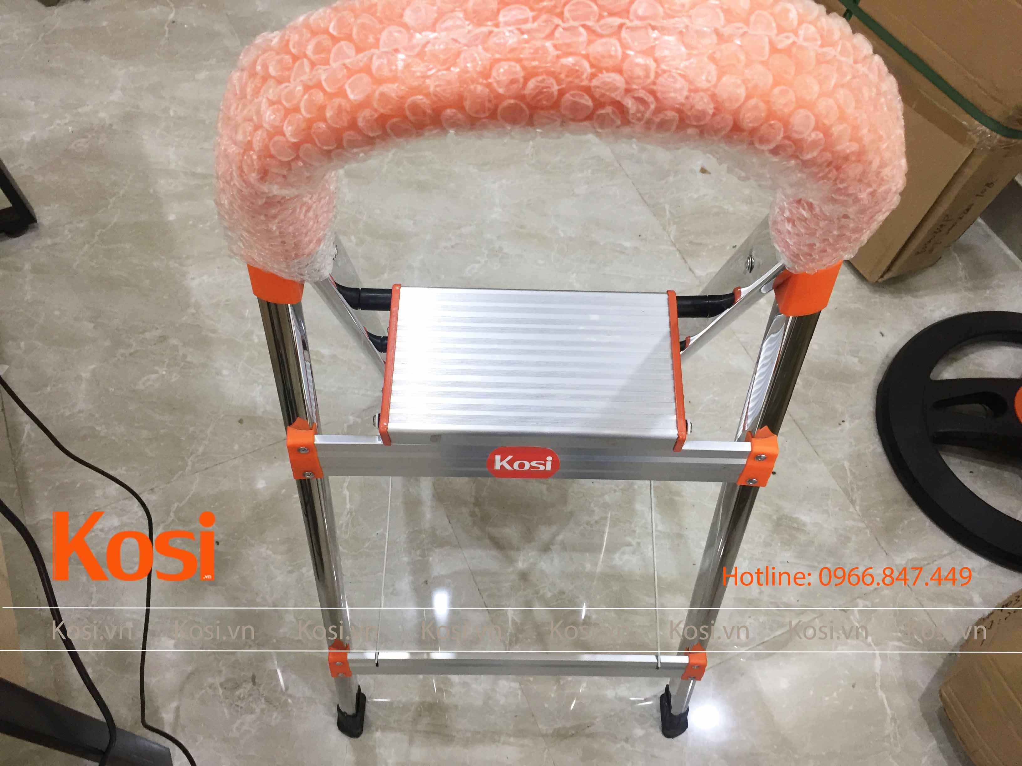 Thang ghế inox KSXP – 3 STEP 5