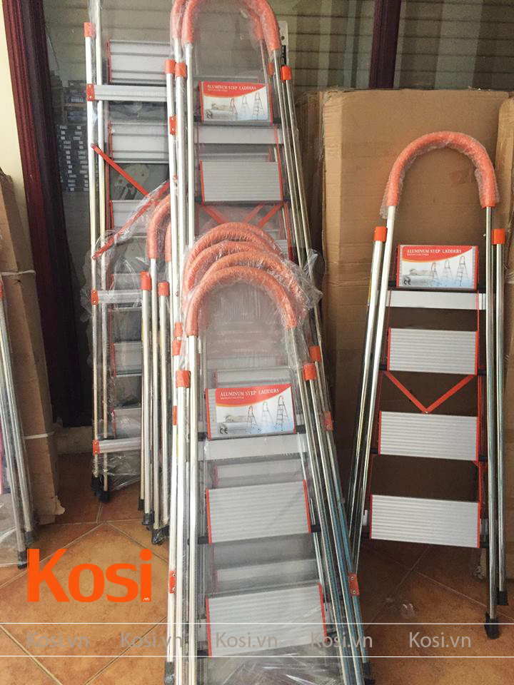 Thang ghế inox KSXP - 6 STEP 3