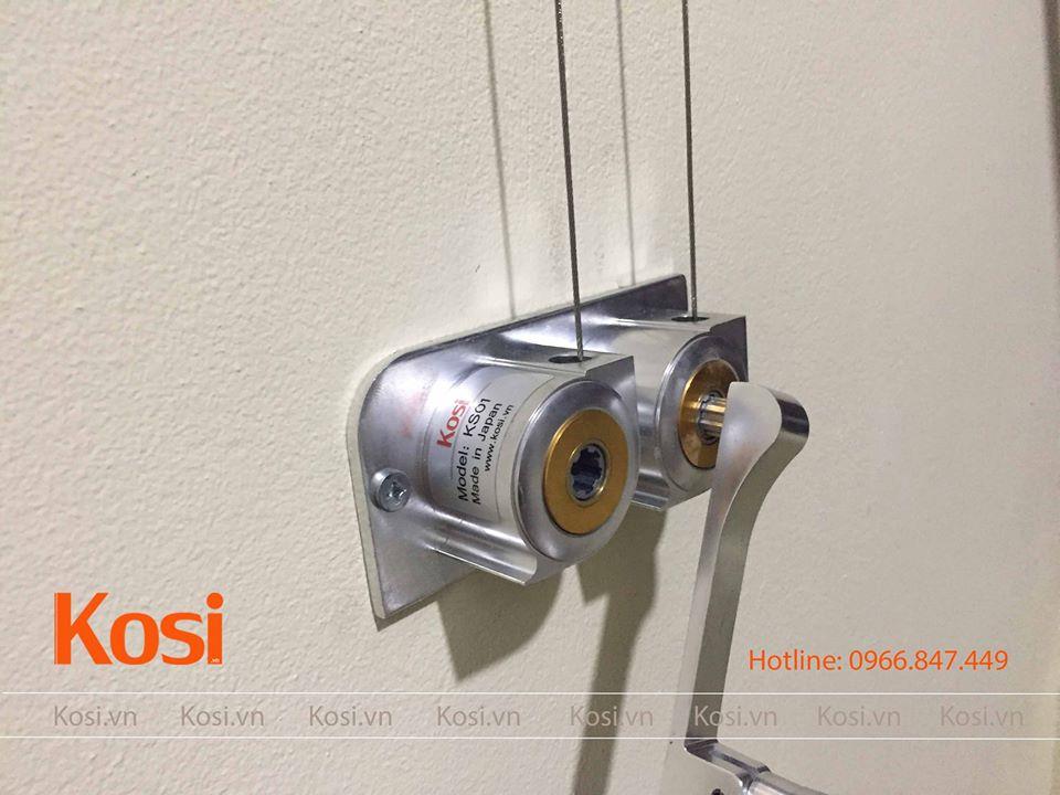 Bộ tời tay quay rời của bộ giàn phơi Kosi KS01