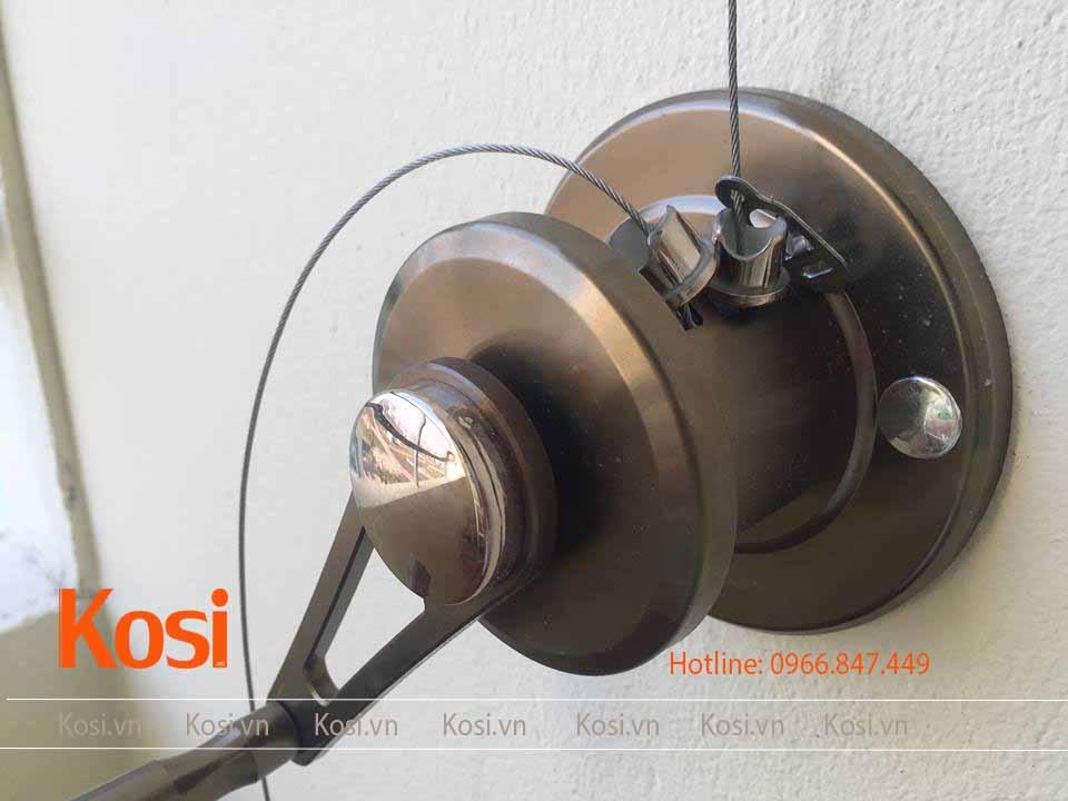 Bộ tời bộ giàn phơi Kosi KS06 lắp đặt tại CT2 Cát Tường - Bắc Ninh