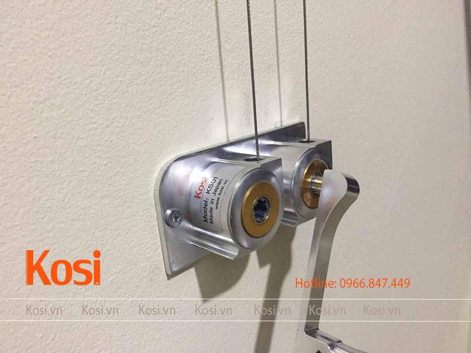Bộ tời tay quay rời nhưng chắc chắn và sang trọng của Kosi KS01