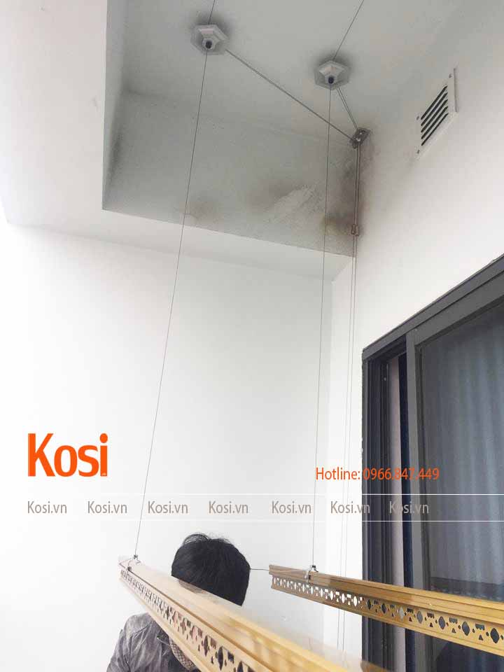 Bộ giàn phơi thông minh Kosi KS06