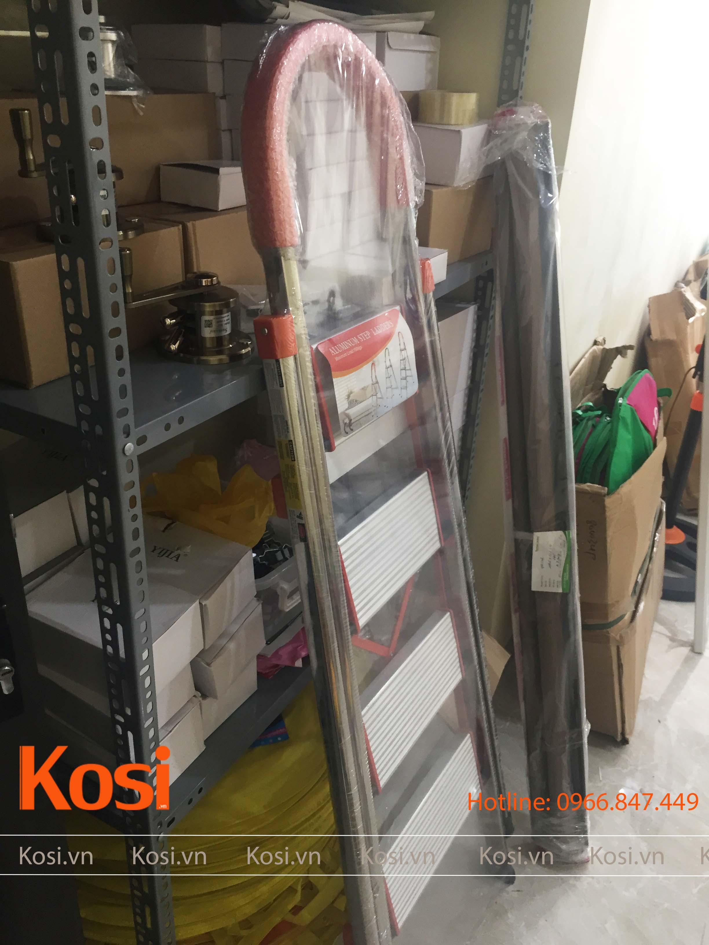 Thang ghế inox KSXP – 4 STEP 4
