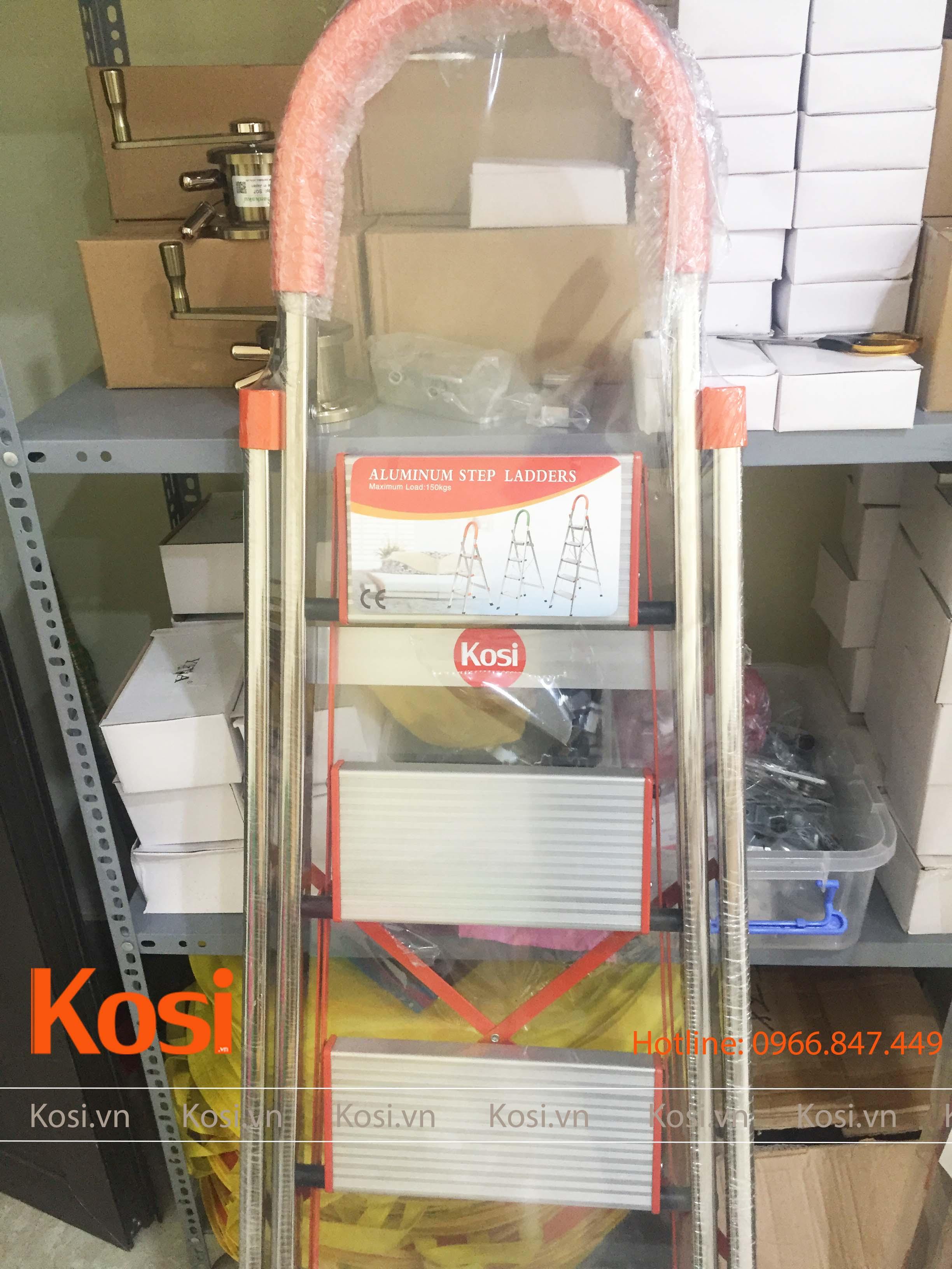 Thang ghế inox KSXP – 4 STEP 2