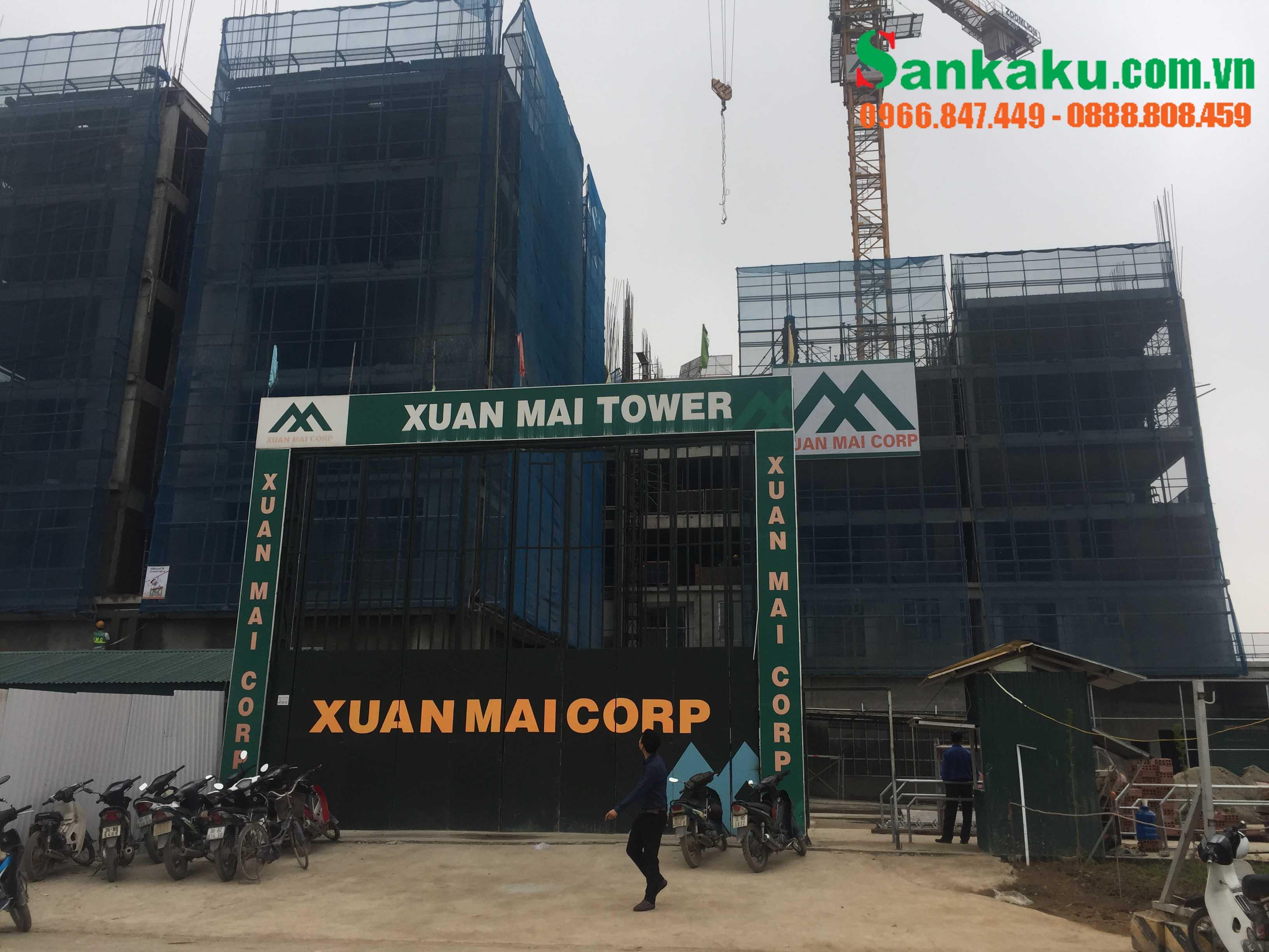 Lắp đặt rèm căn hộ tại Xuân Mai Tower - Thanh Hóa