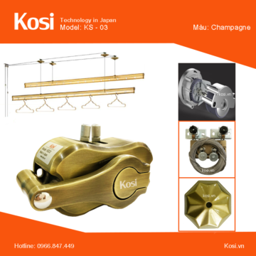 Giàn phơi Kosi – KS03