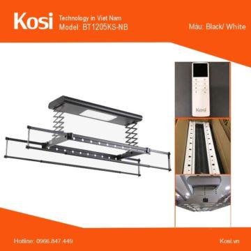 Giàn phơi điện tử Kosi BT1205KS-NB