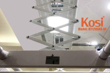 Sự tiện lợi của giàn phơi điện tử Kosi
