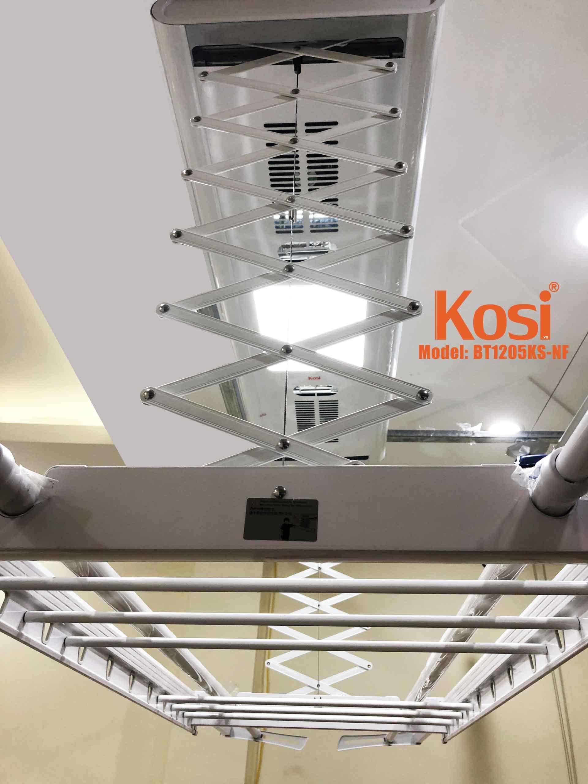 Ưu điểm nổi bật của giàn phơi điều khiển từ xa Kosi – BT1205KSNF 10